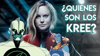 Quiénes son los Kree?   Capitán Marvel