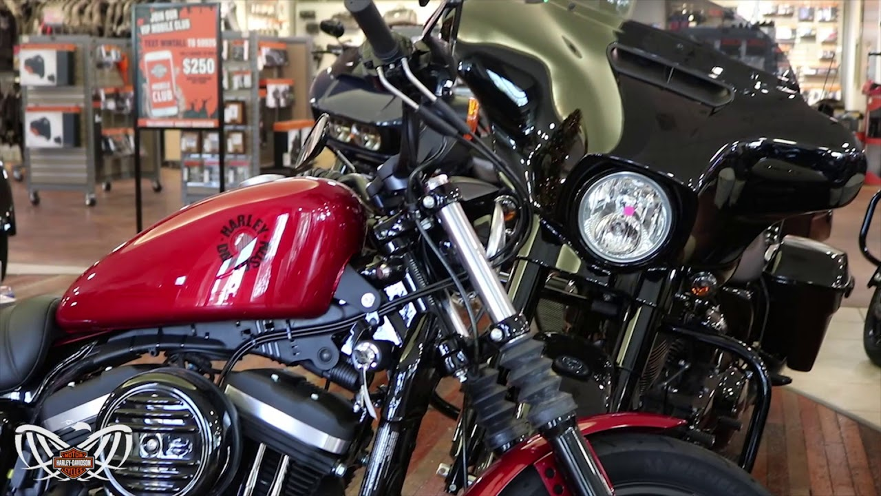 2019 Harley-Davidson Iron 883 Sportster   Wicked Red   New Bike Overview