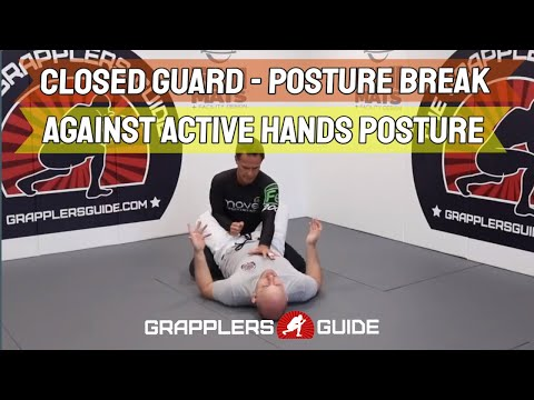 Closed Guard Posture Break - Against Active Hands Posture by Jason Scully