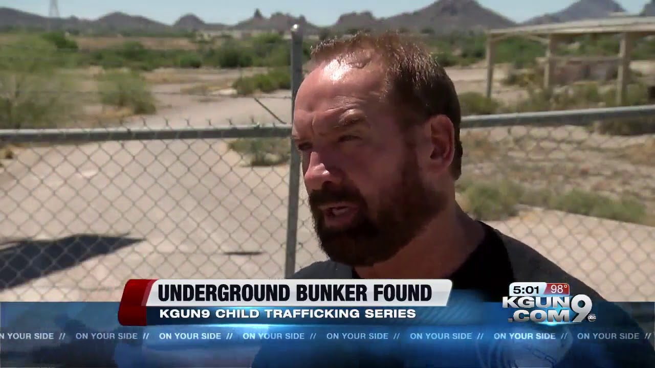 Underground bunker possibly used for human trafficking of children found in  Tucson