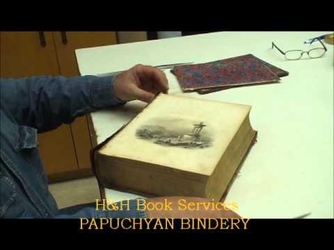 Old Book Restoration Part 1/5