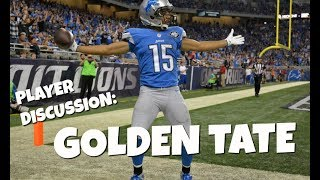 Fantasy Football 2017: Should You Draft Golden Tate?