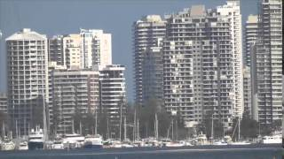 Boats on the Broadwater Gold Coast