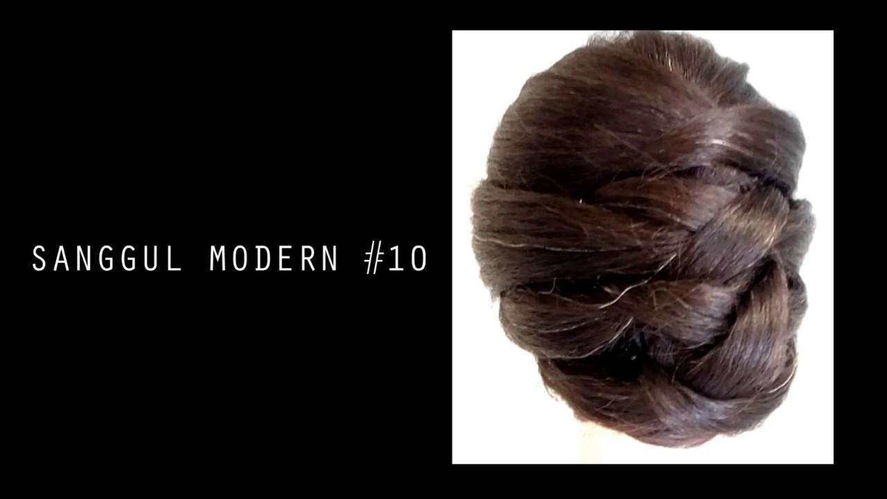 Sanggul Modern 10 Tutorial Sanggul Modern By Timur Flores Youtube