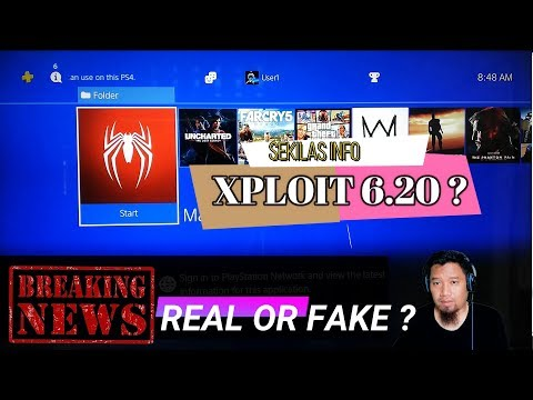 INFORMASI PS4 WEBKIT XPLOIT 6.20 ( REAL OR FAKE ? )