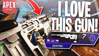 I LOVE the New Sniper! (Sentinel) - PS4 Apex Legends Season 4 Sentinel Gameplay