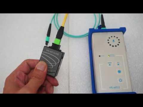 MPOMTP 12 channels Fiber Identifier  VFL MT12 IDE-1