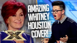 """I wasn't expecting THAT!"" Justin Peng SURPRISES Judges with Whitney Houston HIT! 