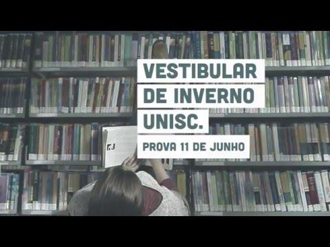 Vestibular de Inverno Unisc - Biblioteca