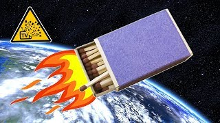 Как сделать ракету из спичек (How to make a rocket from matches)(Предлагаем Вашему вниманию видео о том, как легко и просто сделать ракету из спичек и фольги. В процессе..., 2014-07-06T12:37:44.000Z)