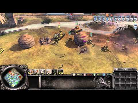 Company Of Heroes 2 Multiplayer Gameplay - Friends in Soviet Places