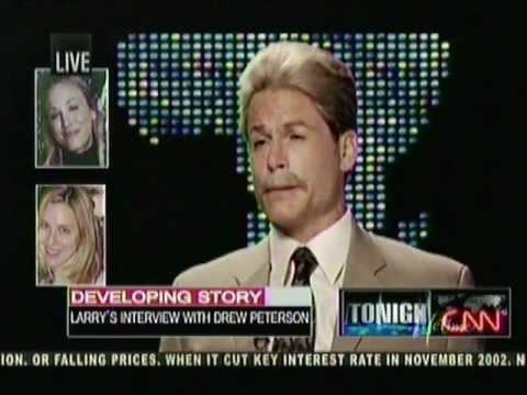 Rob Lowe / Drew Peterson (Untouchable) - Larry King Live Scene - Lifetime