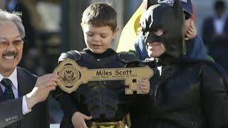 """Batkid"" in California declared cancer-free"