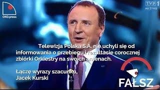 OKOpress prezentuje: Jacek Kurski złamał słowo dane Jurkowi Owsiakowi