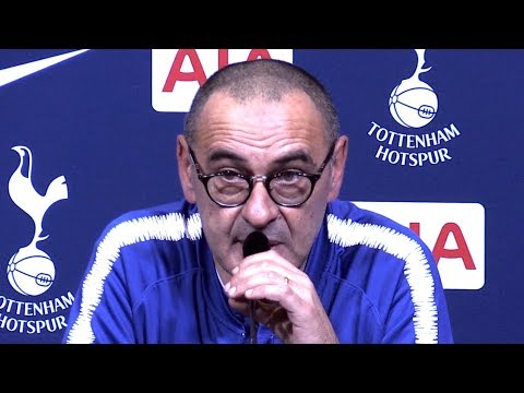 Tottenham 3-1 Chelsea - Maurizio Sarri Full Post Match Press Conference - Premier League