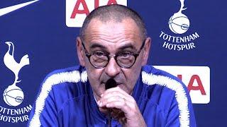 Tottenham 3-1 Chelsea - Maurizio Sarri Full Post Match Press Conference - Premier League