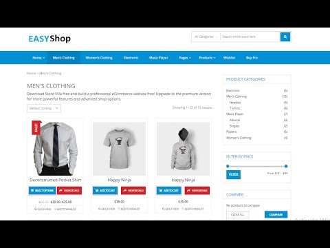 How To Create eCommerce Website In WordPress In India 2017 (
