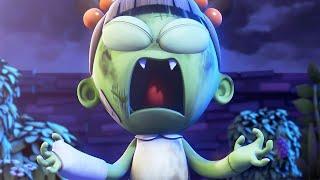 Funny Animated Cartoon | Spookiz | Zizi's Super Power | 스푸키즈 | Videos For Kids
