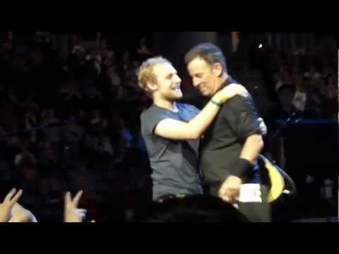 Bruce Springsteen-I'M GOING DOWN (intro)-Wrecking Ball Tour-Hamilton,Canada. October 21, 2012