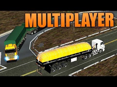 Grand Truck Simulator Multiplayer -  Comboio + Transporte de Verduras