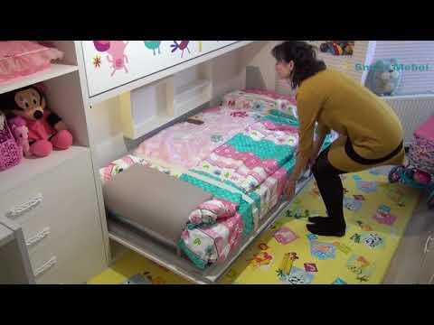 ШОК! SMART ДЕТСКАЯ 9m2 для двоих детей, УМНОЕ РЕШЕНИЕ для малогабаритных квартир