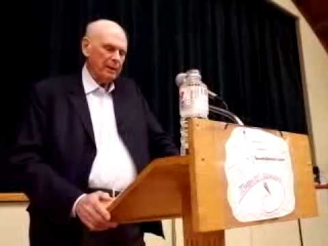 Paul Hellyer on: #MoneyMafia #Cabal #TPP Int'l Banking #ClimateJustice & more @ Toronto Dowsers mtg