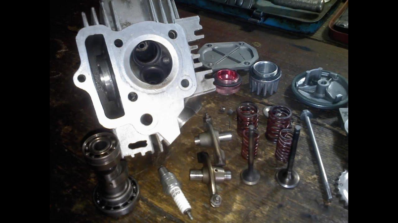 Rebuild Suzuki Small Engine