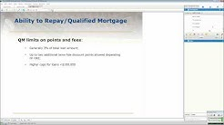 Qualified Mortgage Rule presented by Scott Griffin