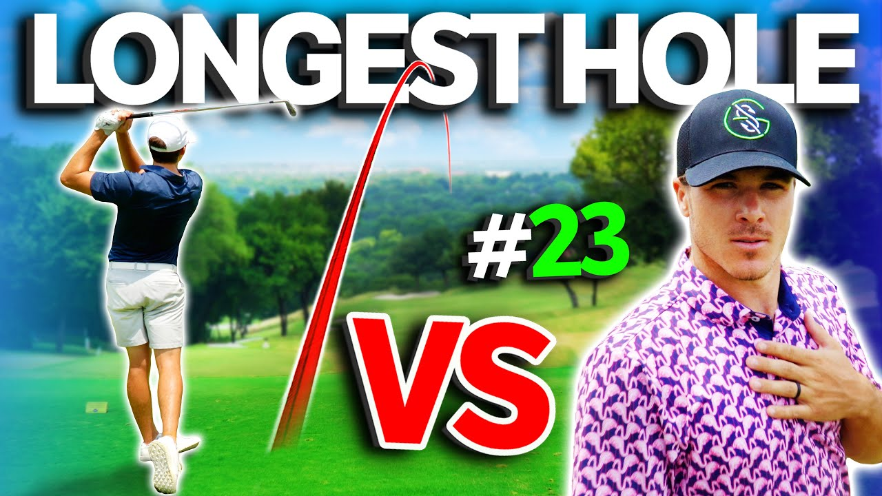 The LONGEST GOLF HOLE We Have Ever Played | Sunday Match #23