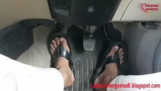 Cara mudah mengatur pedal ketika di tanjakan agar tidak mundur/loncat & mati mesin