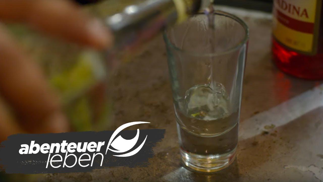 Der Tequila - hautnahe dabei.