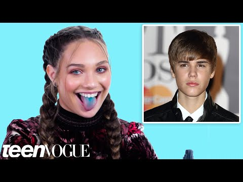 Maddie Ziegler on Her First Crush & Meeting Justin Bieber | Firsts | Teen Vogue