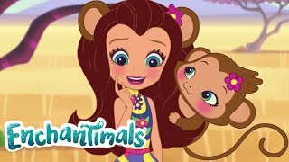 Enchantimals | Tales From Everwilde: Savanna Banana 🍌💜Episode 11 💜Cartoons for Kids