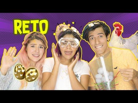 HUEVOS LOCOS CHALLENGE  | RETO POLINESIO LOS POLINESIOS