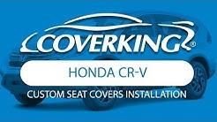 How to Install 2013-2016 Honda CR-V Custom Seat Covers