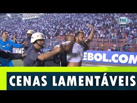 Minutos Finais + Confusão no Pacaembu | Santos x Independiente-ARG | 28/08/2018
