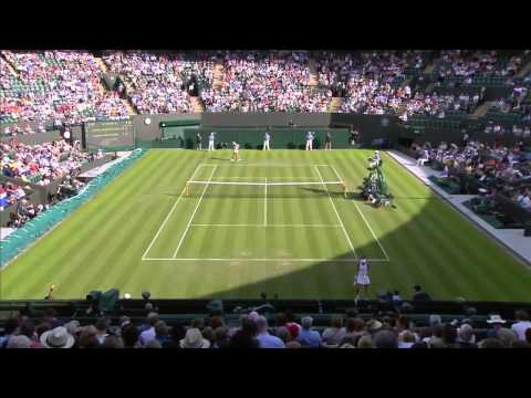 Уимблдон 2014. Бушар-Хантухова. Wimbledon 2014 Eugenie Bouchard vs Daniela Hantuchova HD