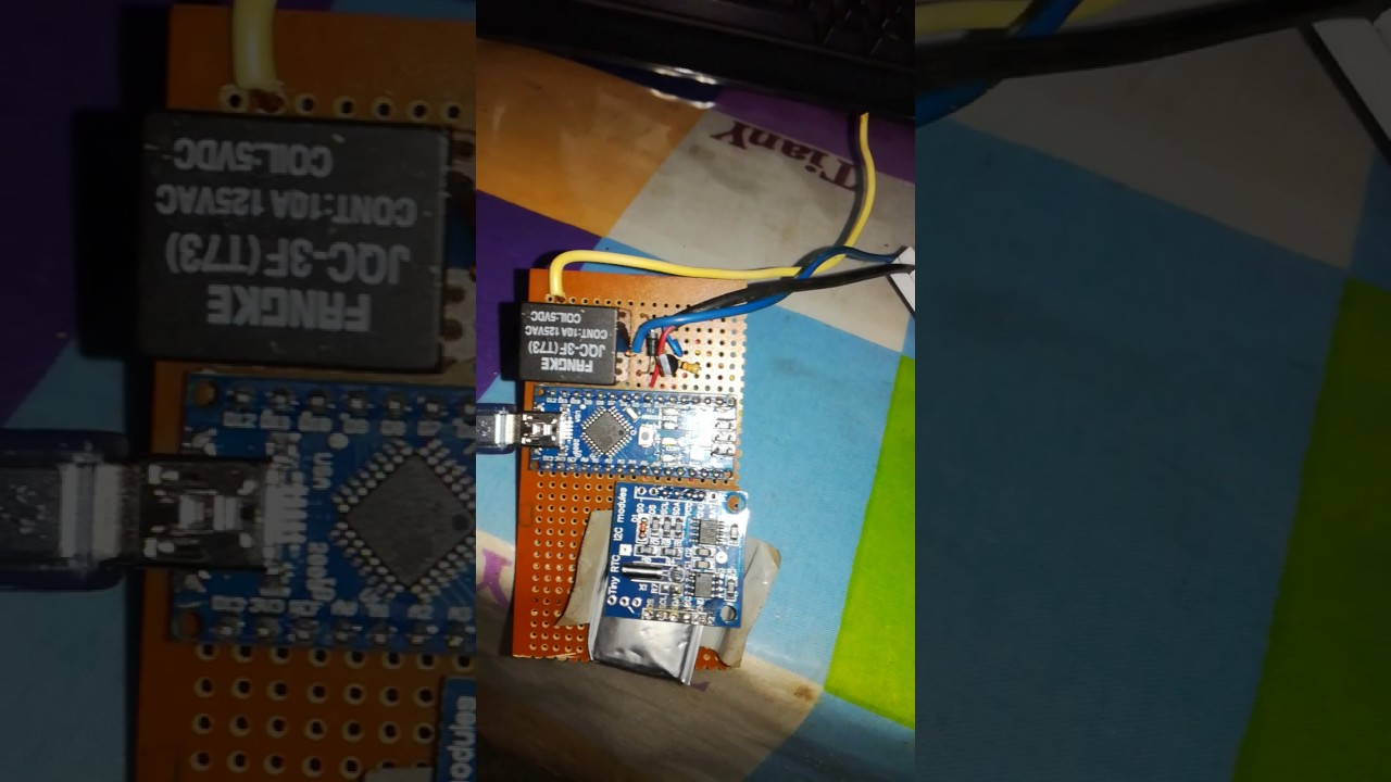 Timer On Off Relay Using Rtc Module In Arduino Nano Youtube
