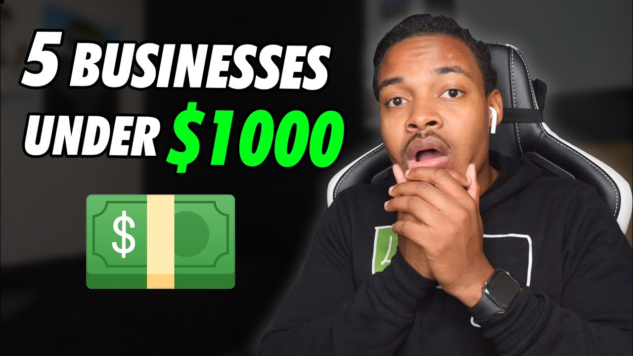 5 Business Ideas You Can Start with 1000 | Can Start Tomorrow