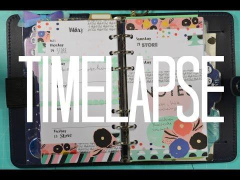 {[Filofax Deco Timelapse]} Ashley G