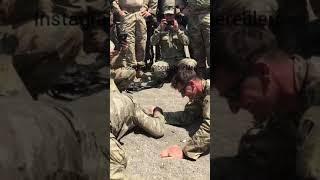 Türk KOMANDO/ amerikan askeri bilek güreşi