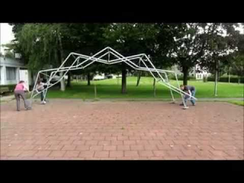Deployable Scissor Arch for Transitional Shelters