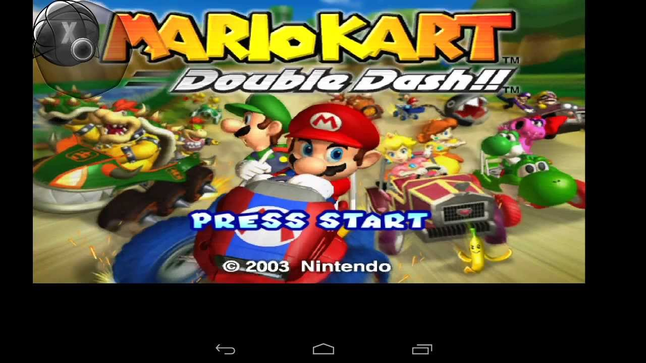 Mario kart double dash!! Dolphin emulator gamecube on android on.