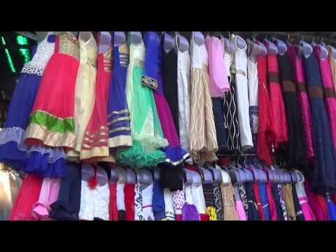 Famous Fashion Street Of Mumbai, Maharashtra, India
