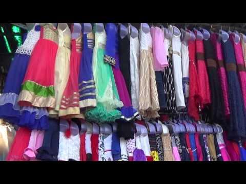 Famous Fashion Street Of Mumbai, Maharashtra, India