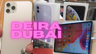 Prices of iPhone 11/11Pro,11 Pro Max , iPad Air/iPad Pro, Smartwatch3/4 in Deira Electronics Market