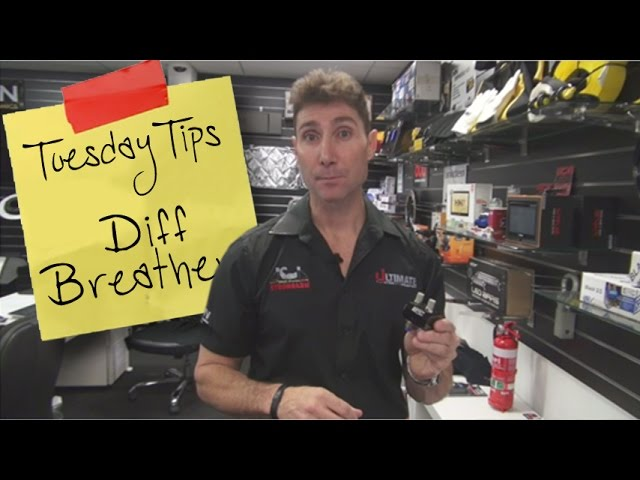 Tuesdays Tips - Diff Breathers