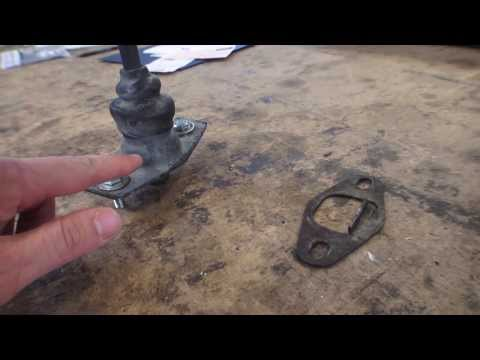 Classic VW BuGs How to Fix Adjust Gear Shifter Housing Grinding  Beetle Issues