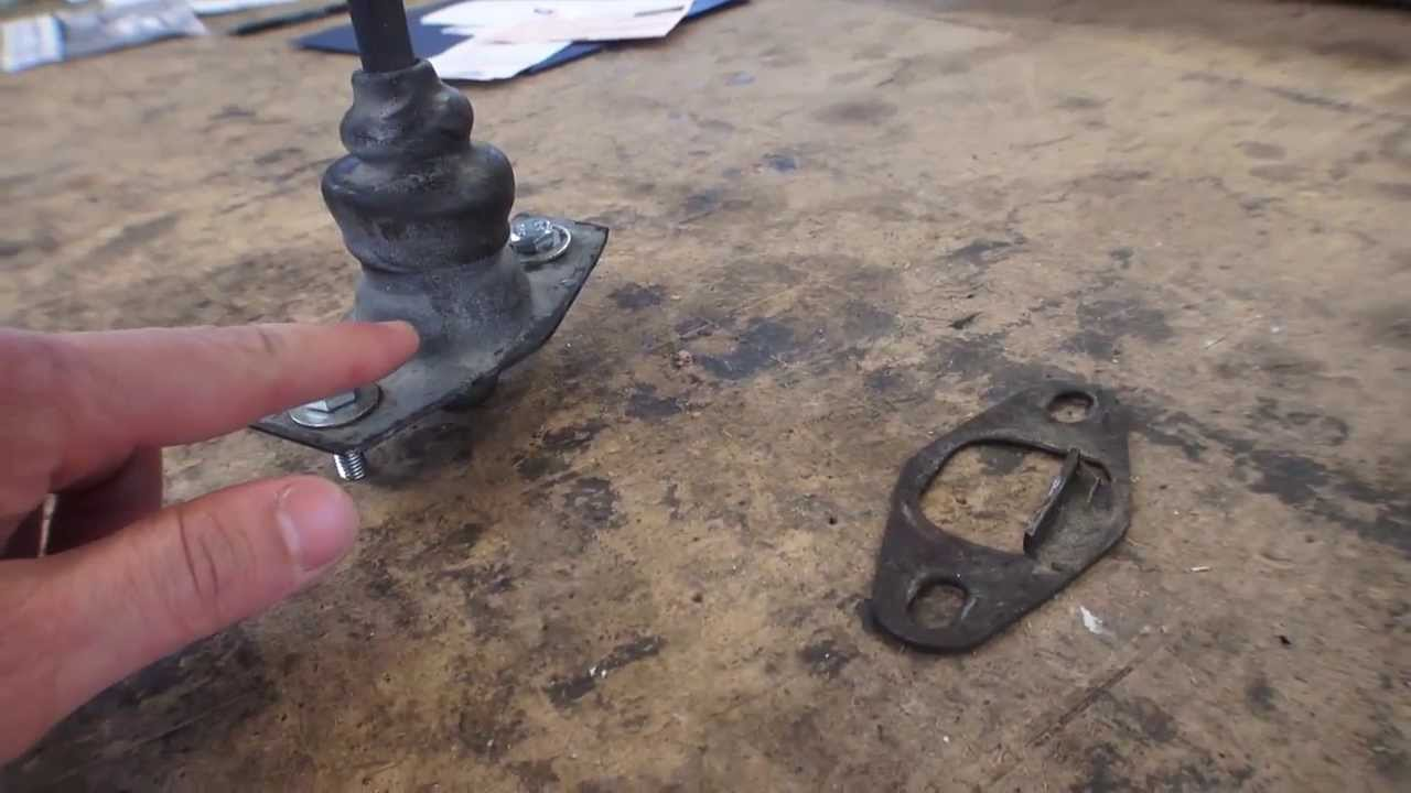 Classic VW BuGs How to Fix Adjust Gear Shifter Housing