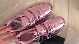 Заказ Faberlic 13/2017: обувь для девочек - Кроссовки розовые со светодиодами ♕